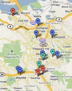 Lmc Pittsburg Campus Map.Bike To Work Day Thursday May 12 2011 511 Contra Costa